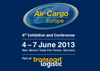 Visit us at the Air Cargo Europe!